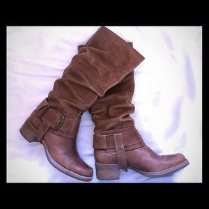 MATISSE  brown Leather knee high boots. 6M